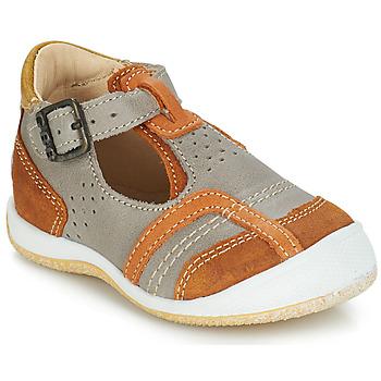 Topánky Chlapci Sandále GBB SIGMUND Hnedošedá
