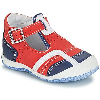Topánky Chlapci Sandále GBB SIGMUND Červená / Modrá