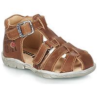 Topánky Chlapci Sandále GBB PRIGENT Hnedá