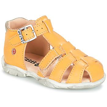 Topánky Chlapci Sandále GBB PRIGENT Žltá