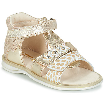 Topánky Dievčatá Sandále GBB SYLVIE Zlatá