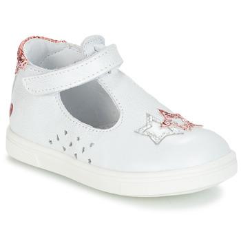 Topánky Dievčatá Balerínky a babies GBB SABRINA Biela
