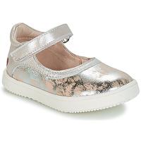Topánky Dievčatá Polokozačky GBB SAKURA Zlatá