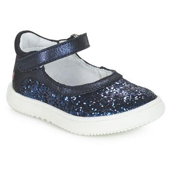 Topánky Dievčatá Balerínky a babies GBB SAKURA Modrá / Námornícka modrá