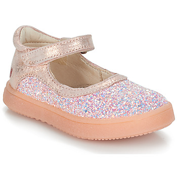 Topánky Dievčatá Balerínky a babies GBB SAKURA Ružová