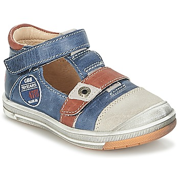 Topánky Chlapci Sandále GBB SOREL Námornícka modrá / Hnedá