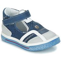 Topánky Chlapci Sandále GBB SALVADORE Vte / Námornícka modrá-biela