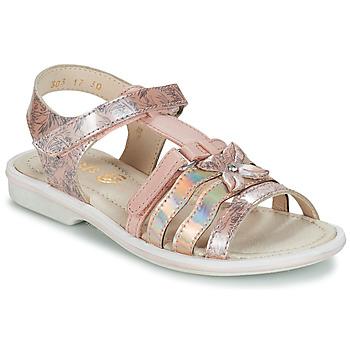 Topánky Dievčatá Sandále GBB SCARLET Ružová