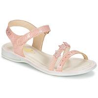 Topánky Dievčatá Sandále GBB SWAN Ružová