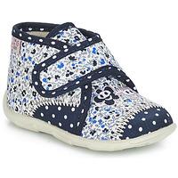 Topánky Dievčatá Papuče GBB PASCALINE Modrá / Biela