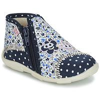 Topánky Dievčatá Papuče GBB PILI Modrá / Biela