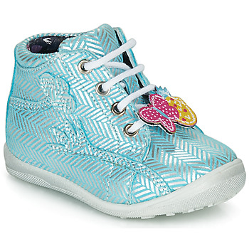 Topánky Dievčatá Členkové tenisky Catimini SALAMANDRE Modrá / Strieborná