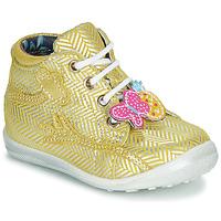 Topánky Dievčatá Členkové tenisky Catimini SALAMANDRE Žltá
