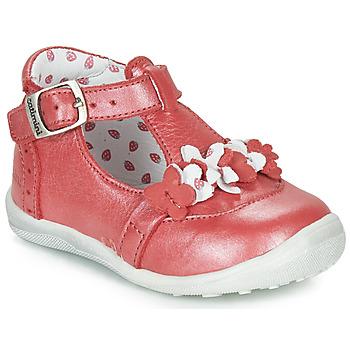 7d4106f98993 Topánky Dievčatá Polokozačky Catimini SALICORNE Vte   Červená   Perleťová