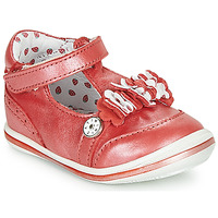 Topánky Dievčatá Sandále Catimini SANTOLINE Červená / Perleťová