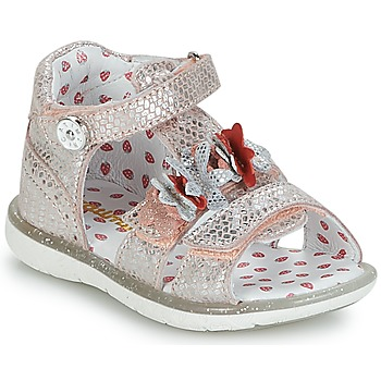 Topánky Dievčatá Sandále Catimini STEVIA Ružová