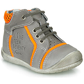 Topánky Chlapci Polokozačky Catimini SEREVAL Šedá-oranžová   Fluorescent d6f29943a6