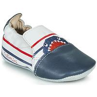 1866524d13ea Topánky Chlapci Papuče Catimini SIMOCYBE Vte   Biela-námornícka modrá