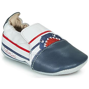 Topánky Chlapci Papuče Catimini SIMOCYBE Biela-námornícka modrá