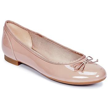 Topánky Ženy Balerínky a babies Clarks COUTURE BLOOM Svetlá telová / Lakovaná