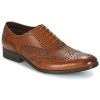 Topánky Muži Richelieu Clarks GILMORE LIMIT Svetlá hnedá / Leather