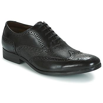 Topánky Muži Richelieu Clarks GILMORE LIMIT Čierna