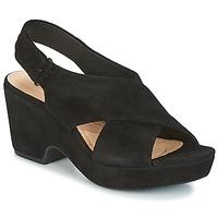 Topánky Ženy Sandále Clarks MARITSA LARA Čierna