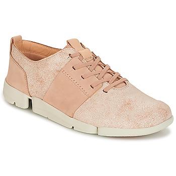 Topánky Ženy Nízke tenisky Clarks TRI CAITLIN Ružová