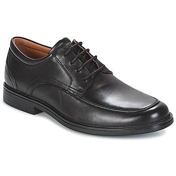 Topánky Muži Derbie Clarks UN ALDRIC PARK Čierna