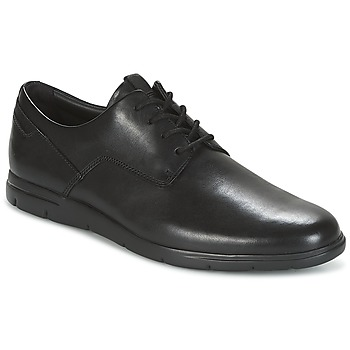 Topánky Muži Derbie Clarks VENNOR WALK Čierna