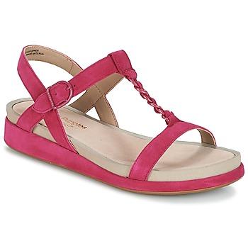 Topánky Ženy Sandále Hush puppies CHAIN T Malinová