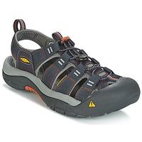 Topánky Muži Športové sandále Keen NEWPORT H2 Šedá