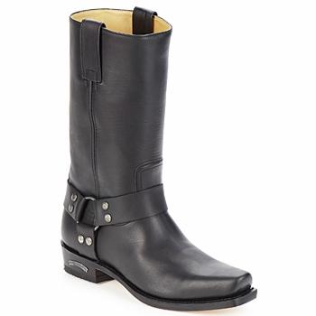 Topánky Muži Čižmy do mesta Sendra boots EDDY Čierna