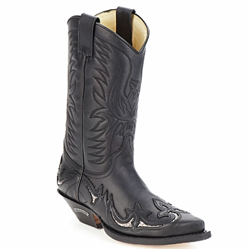 Topánky Čižmy do mesta Sendra boots CLIFF čierna
