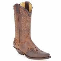 Topánky Čižmy do mesta Sendra boots DAVIS Hnedá