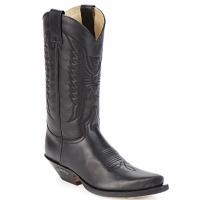 Topánky Čižmy do mesta Sendra boots FLOYD Čierna