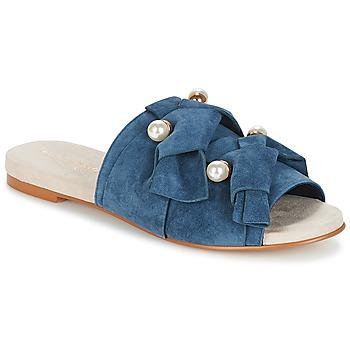 Topánky Ženy Šľapky KG by Kurt Geiger NAOMI-BLUE Modrá