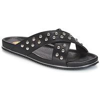 Topánky Ženy Šľapky Buffalo ALOLAJEP Čierna