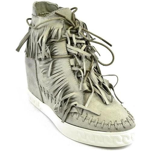 Topánky Ženy Členkové tenisky Seastar Dámske sivé vysoké tenisky CHEW sivá