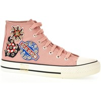 Topánky Ženy Členkové tenisky Seastar Dámske ružové vysoké tenisky VERSA ružová