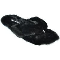 Topánky Ženy Šľapky Comer Dámske čierne šlapky LUIS čierna