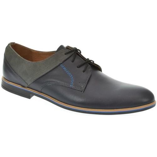 Topánky Muži Derbie I-Guana Modré kožené poltopánky modrá