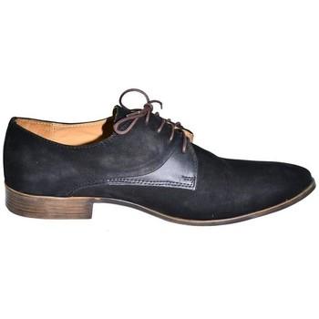 Topánky Muži Derbie I-Guana Kožené pánske topánky HERNO čierna