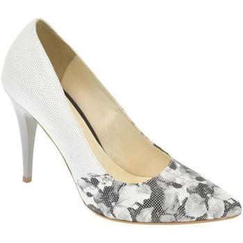 Topánky Ženy Lodičky Alex Dámske sivé lodičky PUERTE biela
