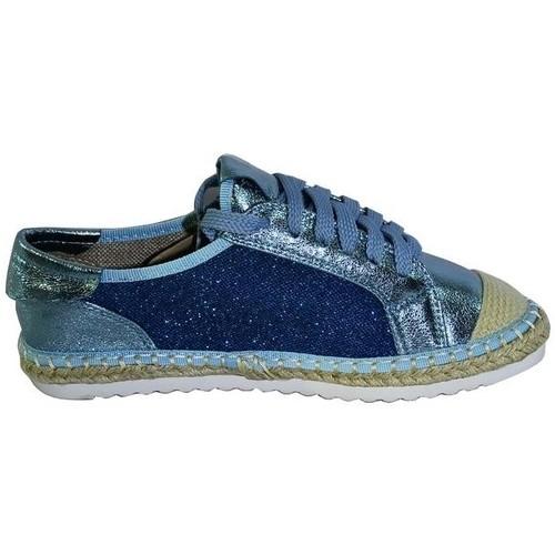 Topánky Ženy Espadrilky Comer DÁMSKE MODRÉ TENISKY KILEY modrá
