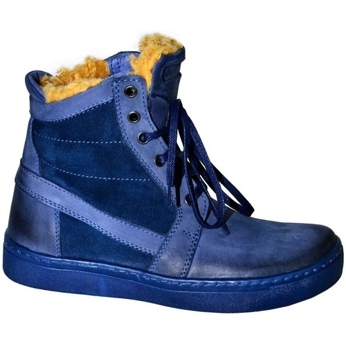 b820732e59e5 Topánky Ženy Obuv do snehu Krezus DÁMSKE TMAVOMODRÉ ČLENKOVÉ ČIŽMY BEATRIX  tmavomodrá