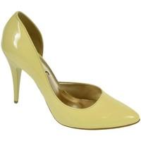 05e9e95a10 Topánky Ženy Lodičky John-C DÁMSKE ŽLTÉ LAKOVANÉ LODIČKY NAUTI žltá