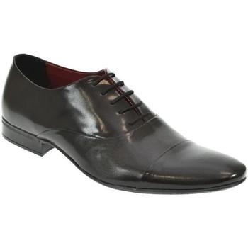 Topánky Muži Derbie Basso Lavagio PÁNSKE ČIERNE POLTOPÁNKY DARIUS čierna