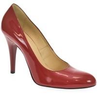 Topánky Ženy Lodičky Acord DÁMSKE ČERVENÉ LAKOVANÉ LODIČKY VICKY červená