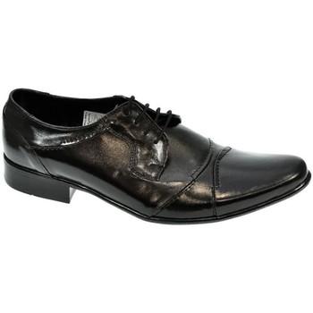 Topánky Muži Richelieu Wograhen PÁNSKE ČIERNE LAKOVANÉ POLTOPÁNKY CARLING čierna